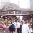 2 早稲田電停に集合しました